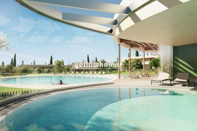 2-bed apt. under construction in a luxury resort near the beach, Armacao de Pera